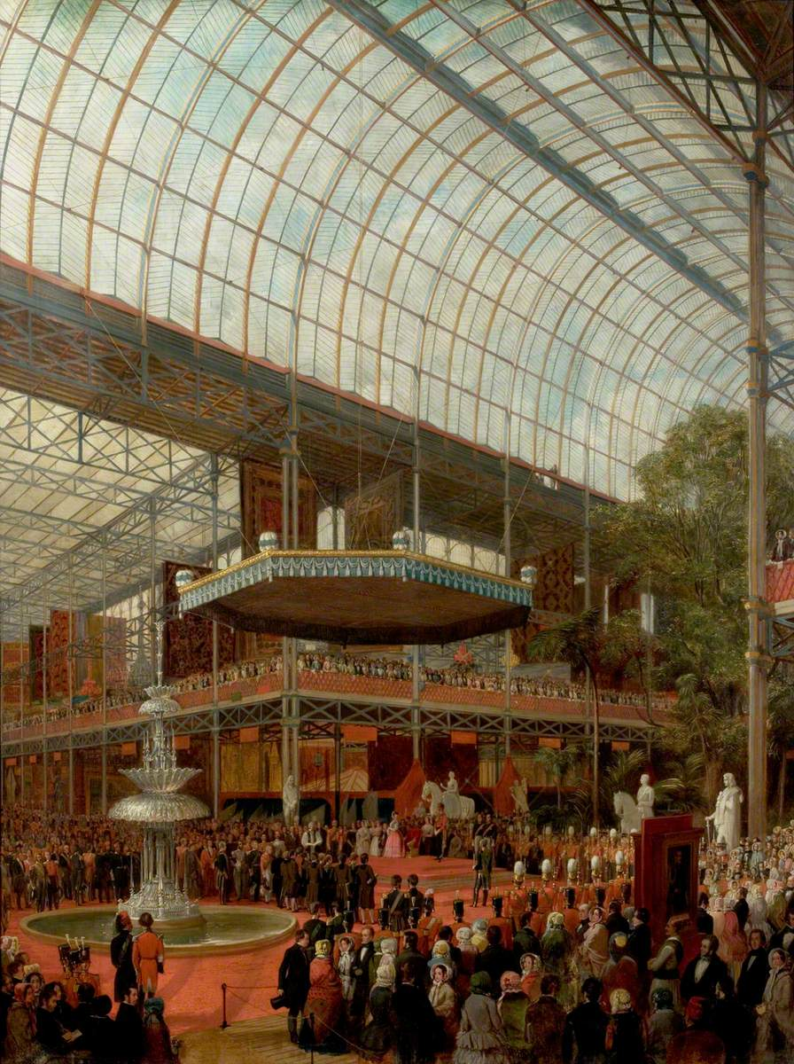 The Opening Ceremony of the Great Exhibition, London