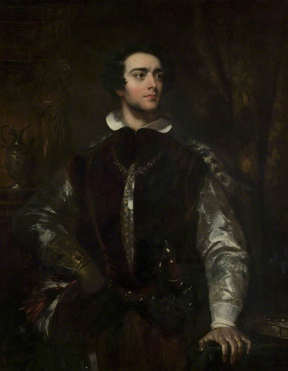 A Gentleman in an Elizabethan Costume