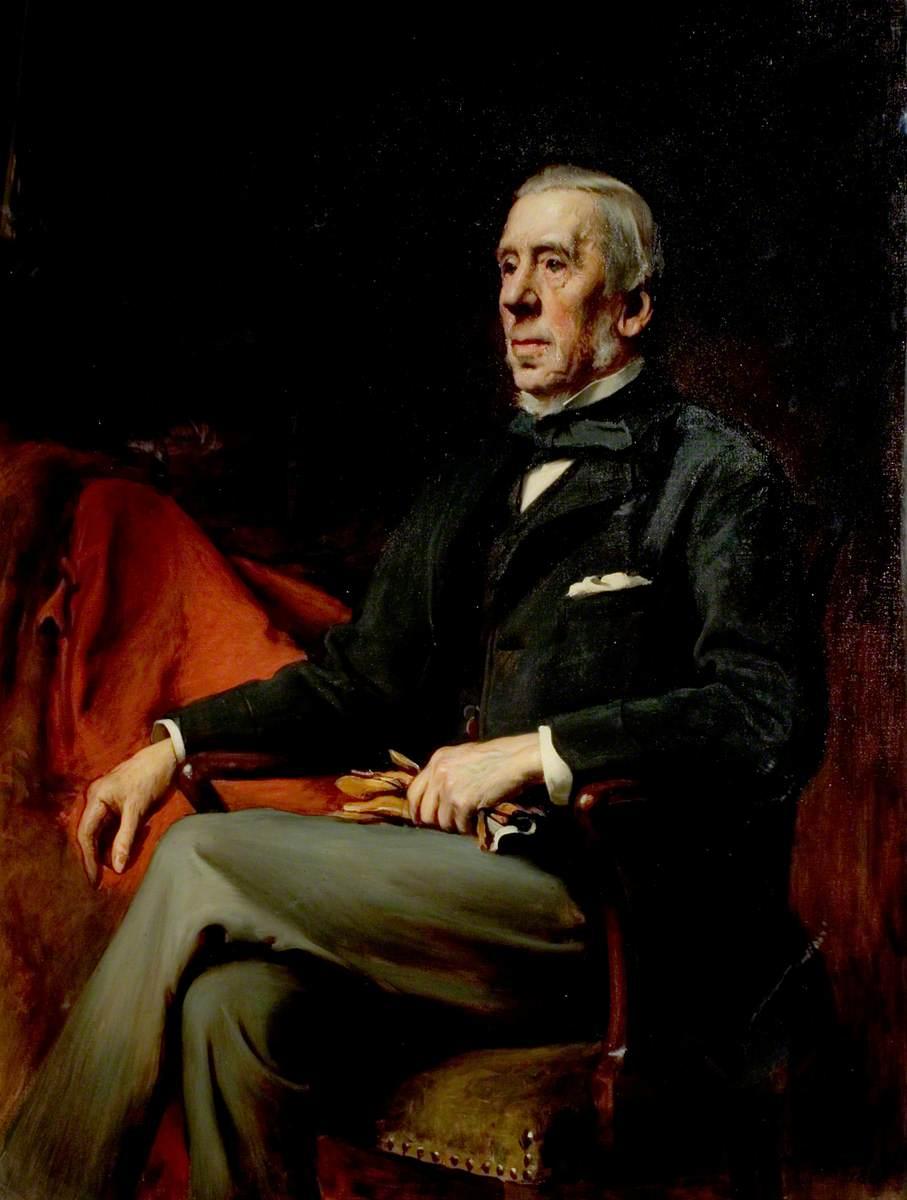 Alderman John Barber, JP, Sheriff of Nottingham (1846), Mayor of Nottingham (1867–1869)