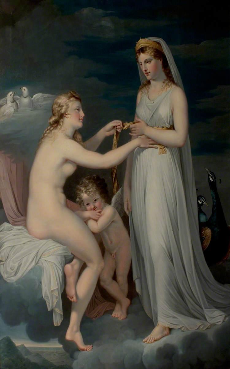Juno Borrowing the Girdle of Venus