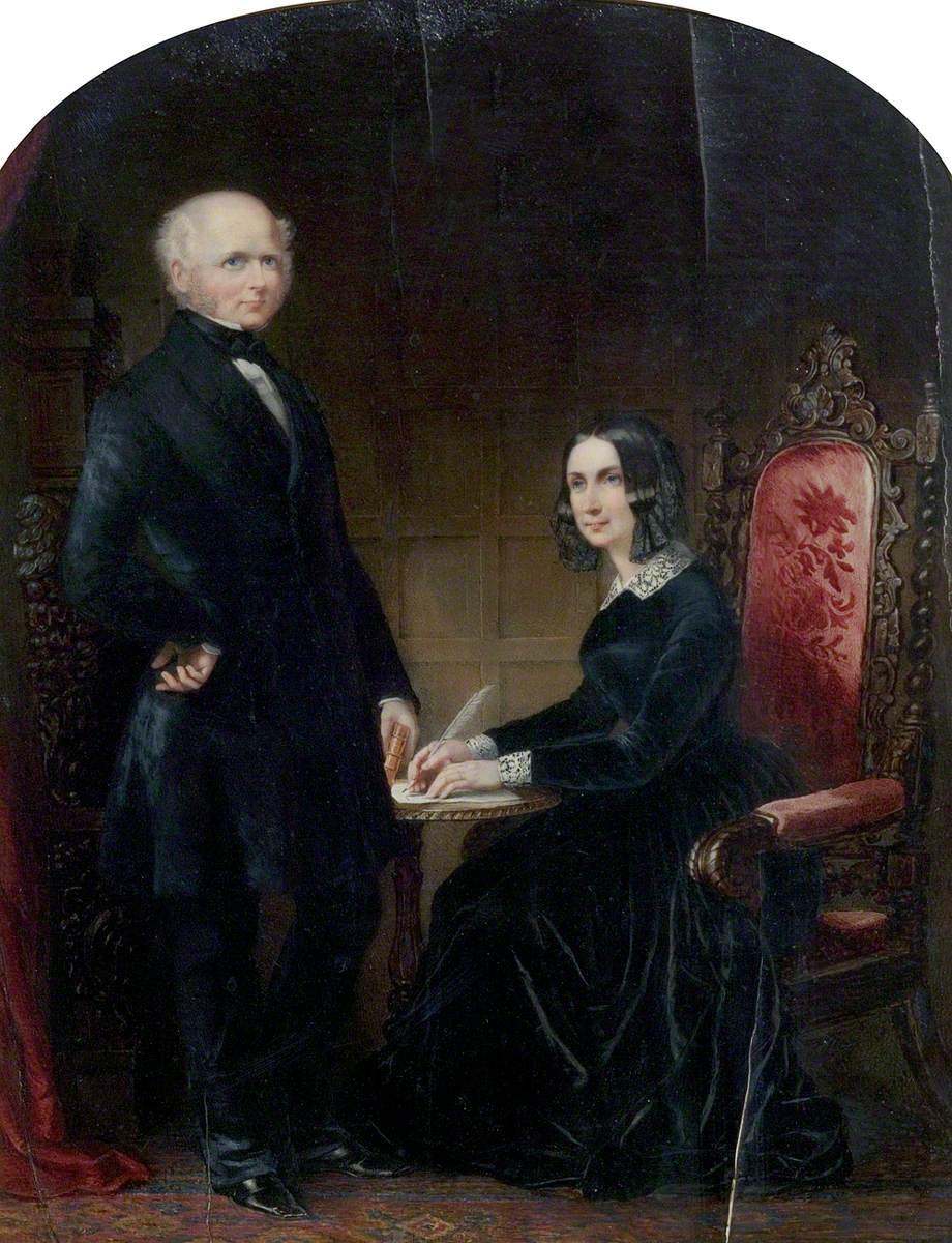 William Howitt (1792–1879), and Mary Howitt (1799–1888)