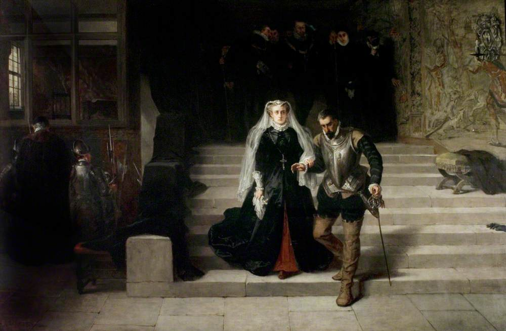 Mary, Queen of Scots, Being Led to Her Execution