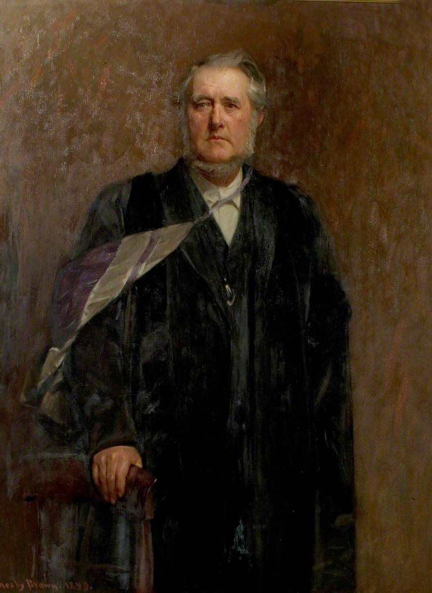 Dr John Brown Paton (1830–1911), Principal of the Nottingham Congregational Institute for 35 Years
