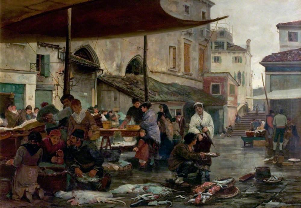 The Fish Market, Venice