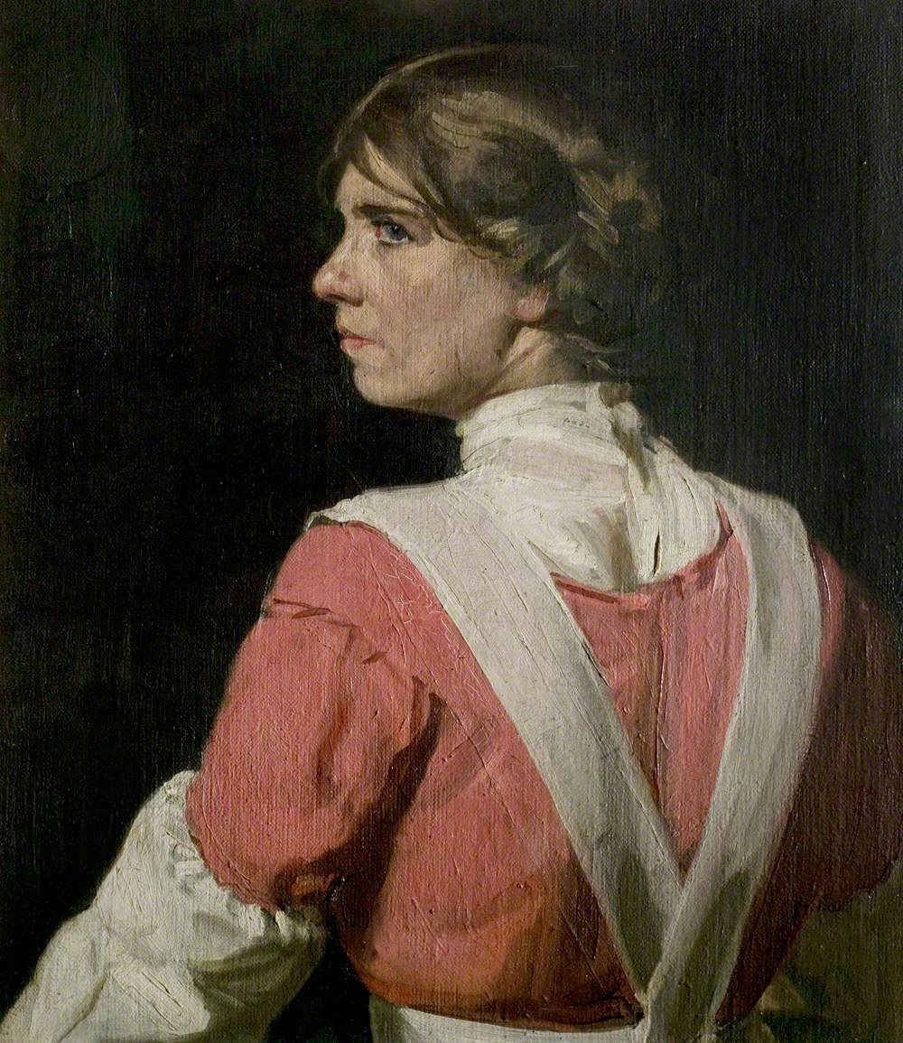 Miss Wish Wynne (1882–1931), Actress, in the Character of Janet Cannot for the Play 'The Great Adventure'