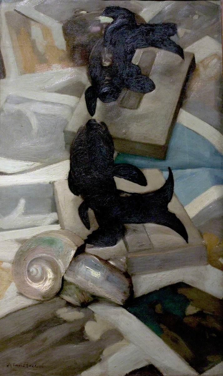 The Black Porcelain Fish (The Bronze Fish)