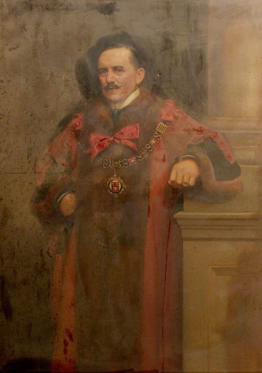 Albert Ball, JP, Mayor of Nottingham (1909–1910)