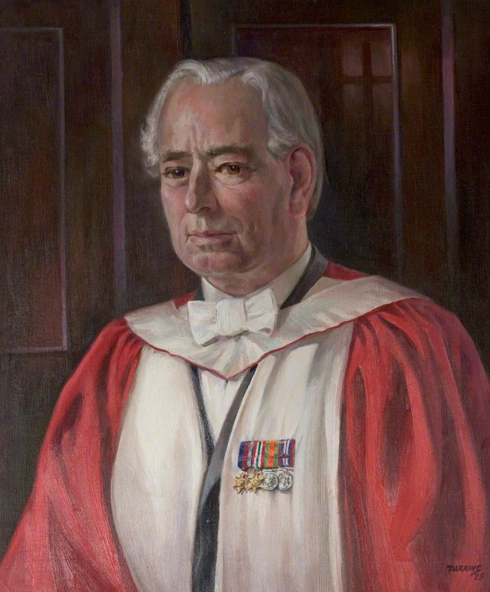 Reverend Dr William Neil, MA, BD, PhD, DD, Warden of Hugh Stewart Hall (1953–1975)