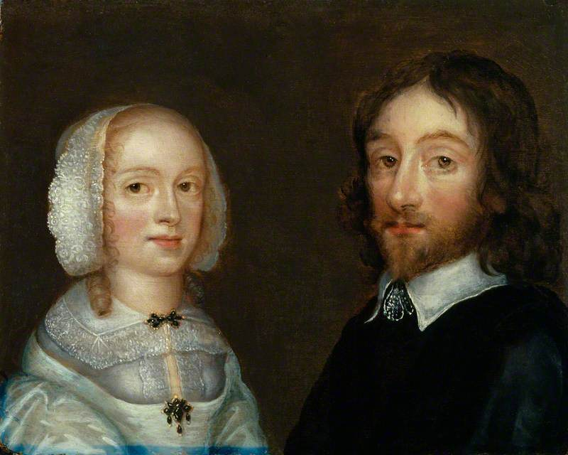 Lady Dorothy Browne, née Mileham; Sir Thomas Browne