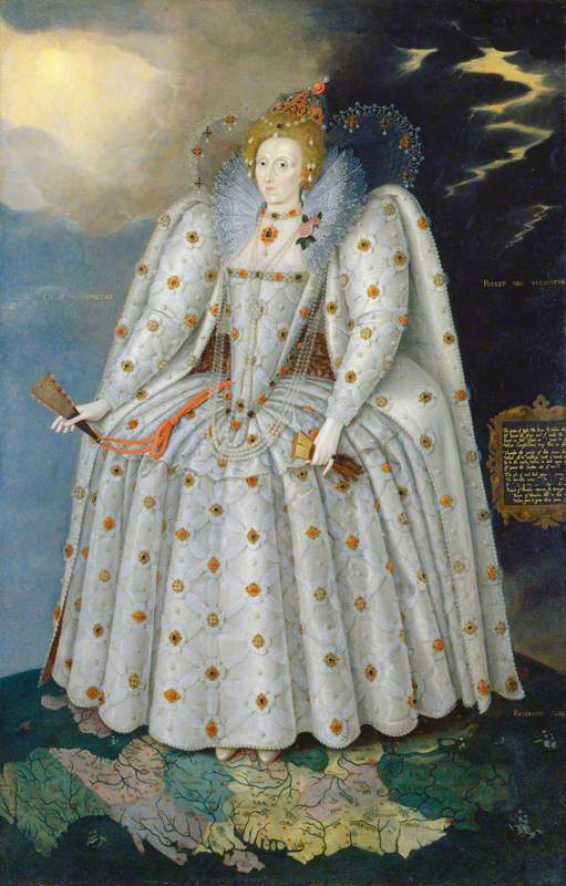 Queen Elizabeth I ('The Ditchley portrait')