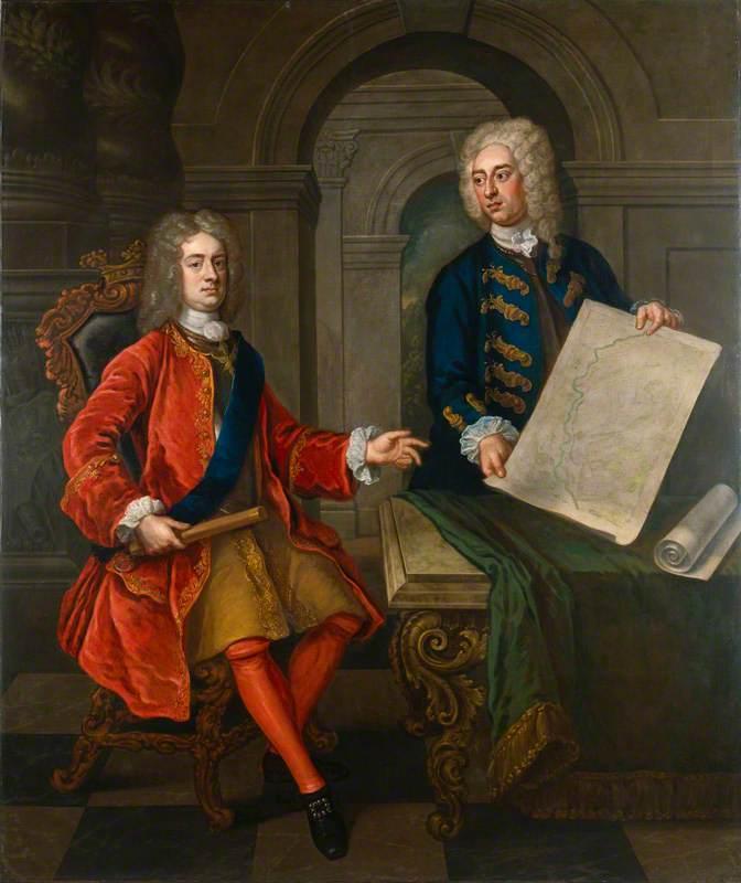 John Churchill, 1st Duke of Marlborough; John Armstrong