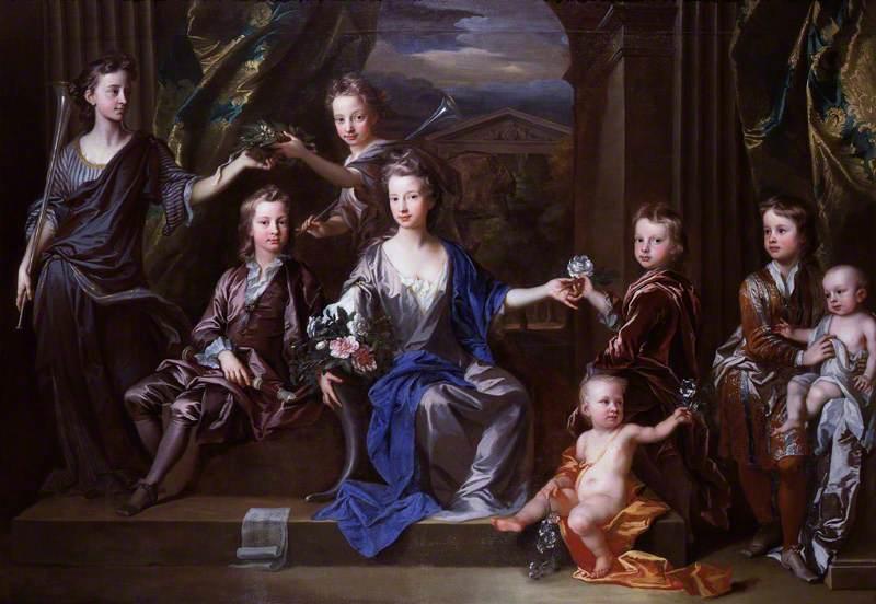 The Children of John Taylor of Bifrons Park