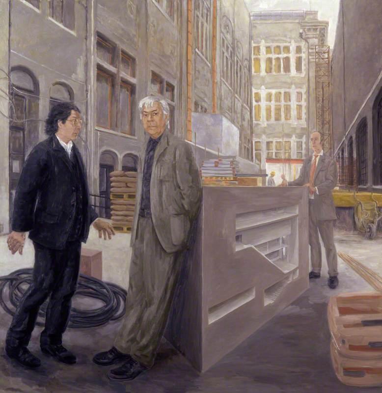 Architects of the Gallery Masterplan (Edward David Brynmor Jones; Jeremy Dixon; Charles Robert Saumarez Smith)