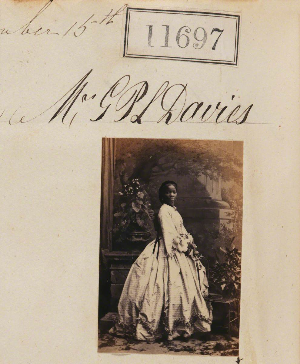 Sarah Forbes Bonetta (Sarah Davies) (1843–1880)