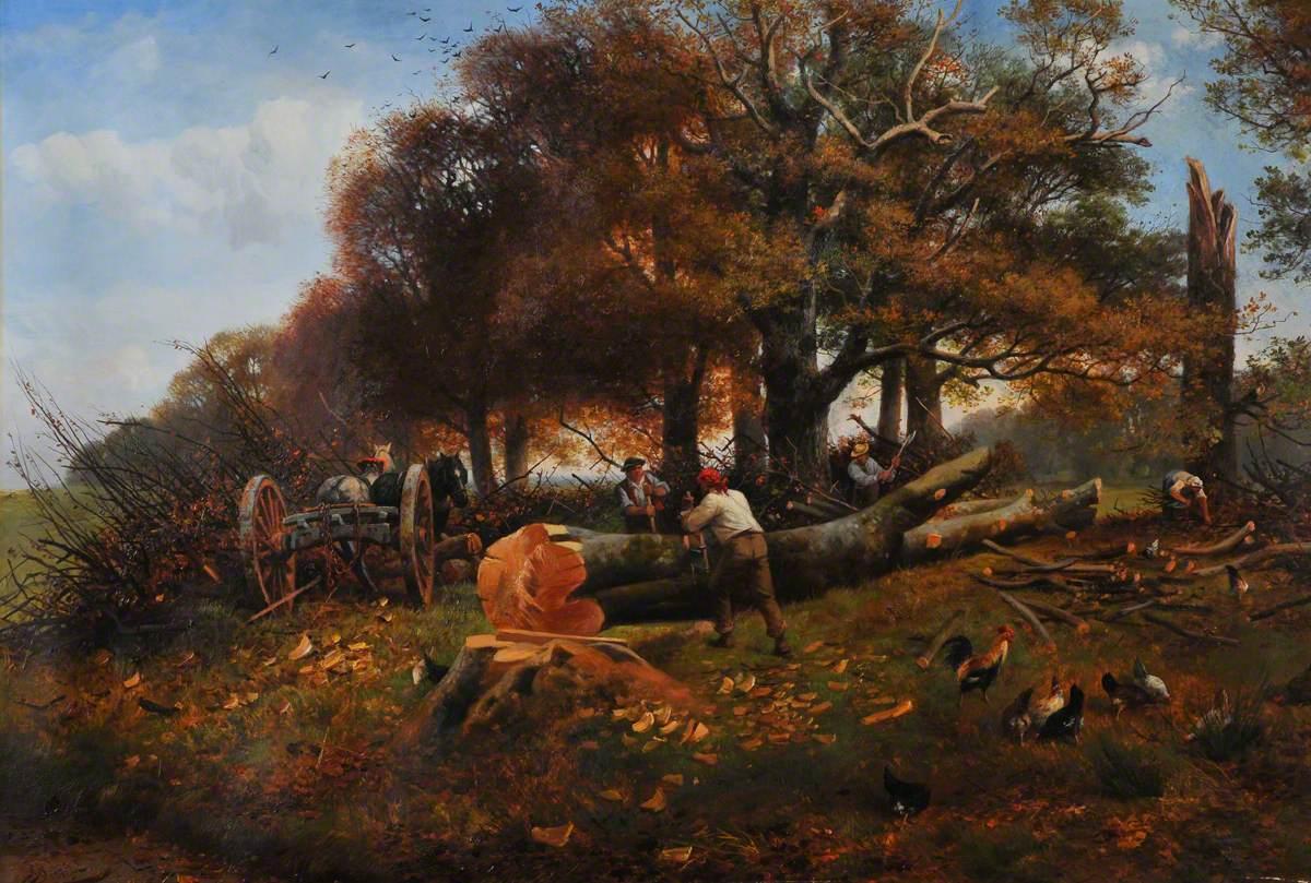 The Woodcutters, Buckhurst Park, Surrey