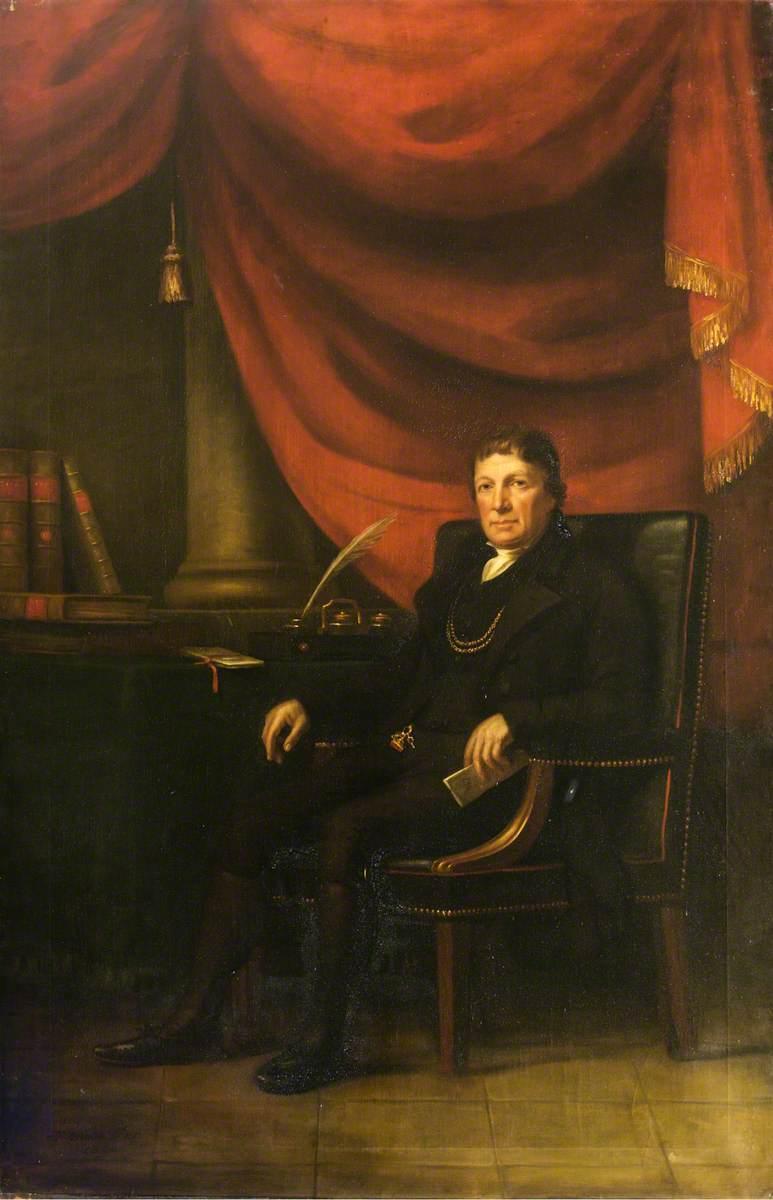 George Robinson (1743–1827), Provost of Banff (1784–1787, 1790–1793, 1796–1799, 1802–1805, 1808–1811, 1814–1817, 1820–1823 & 1826–1827)