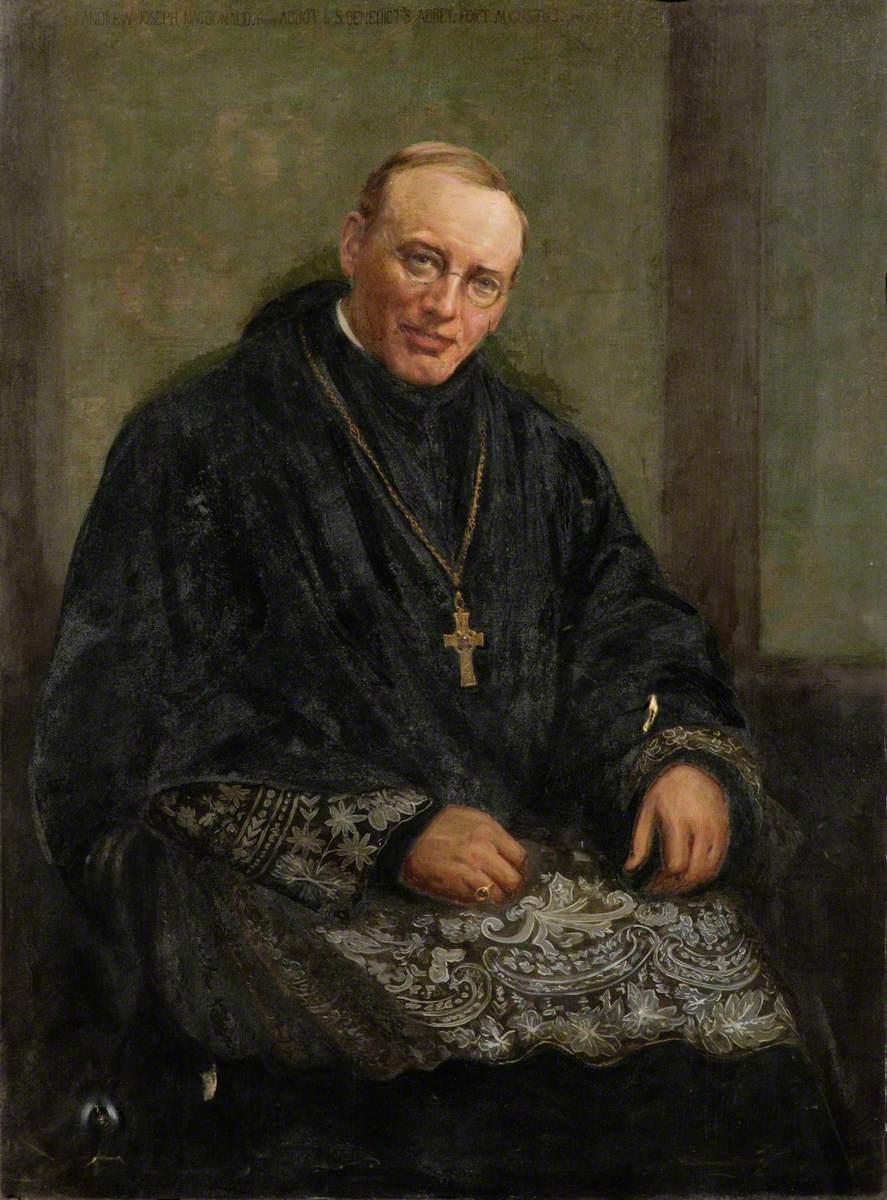 Andrew Joseph Macdonald (1871–1950), 3rd Abbot of St Benedict's Abbey, Fort Augustus