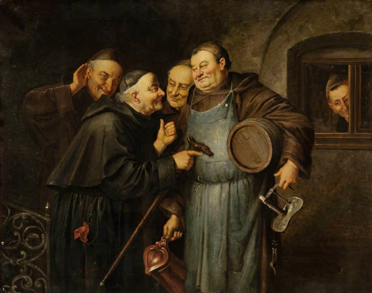 Monks Making Merry*