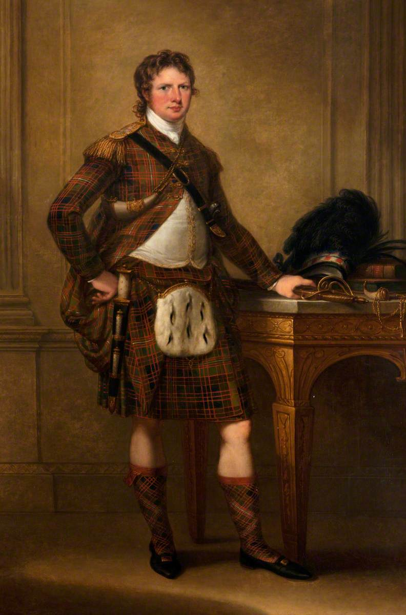 Alasdair Ranaldson MacDonell (1771–1828), 15th Chief of Glengarry