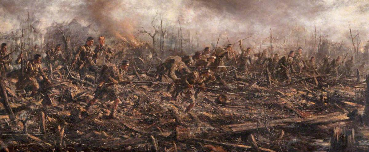 4th (Ross-shire) Territorial Battalion Seaforth Highlanders at the Battle of Neuve Chapelle, March 1915