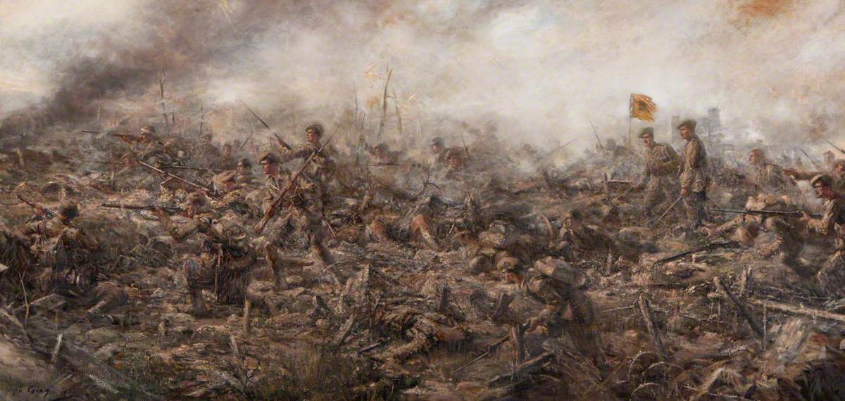 7th Camerons at the Battle of Loos, Hill 70, 25 September 1915