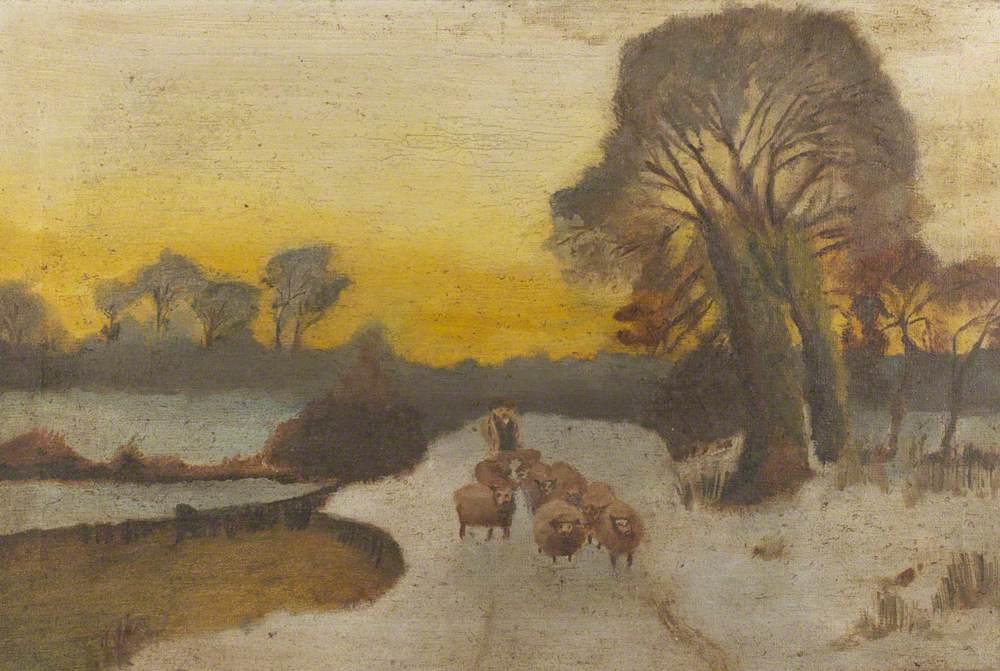 Rural Winter Landscape