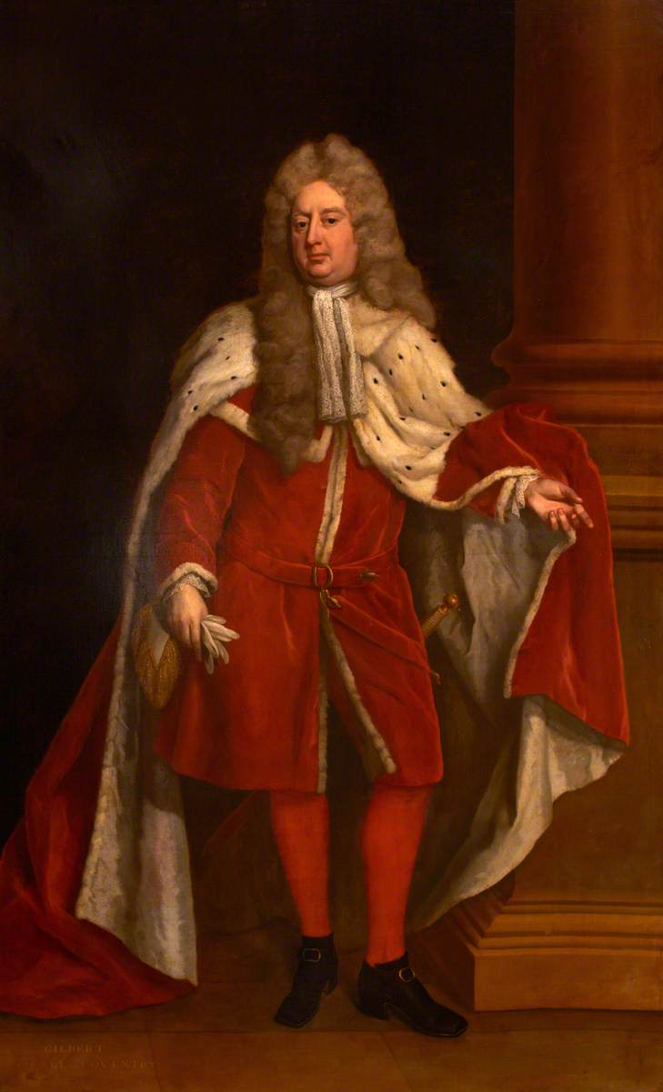 Gilbert Coventry (c.1668–1719), 4th Earl of Coventry