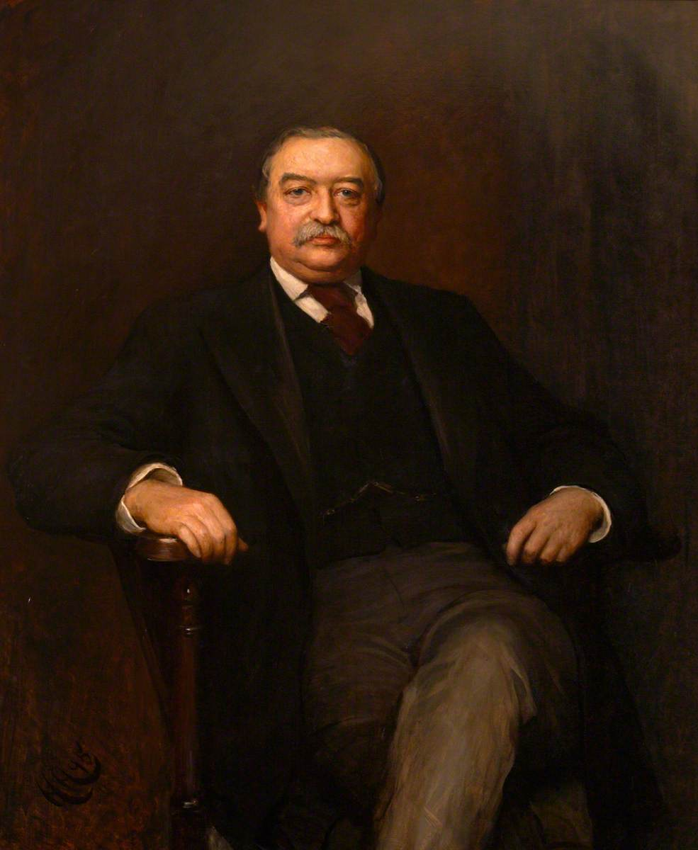 Walter Hayes Burns of North Mymms (1838–1897)