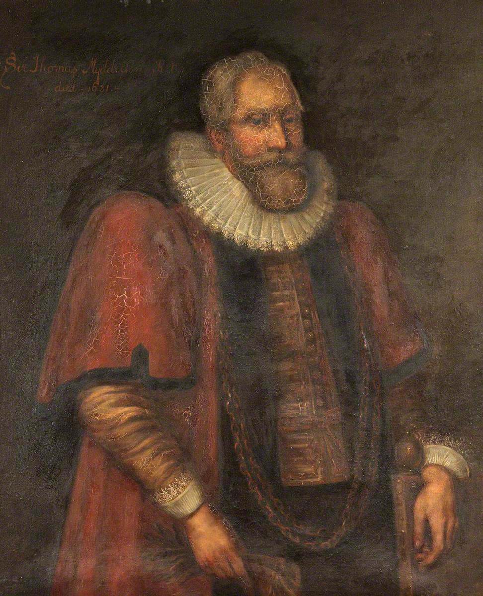 Sir Thomas Myddelton I (1550–1631), as Lord Mayor of London, 1613