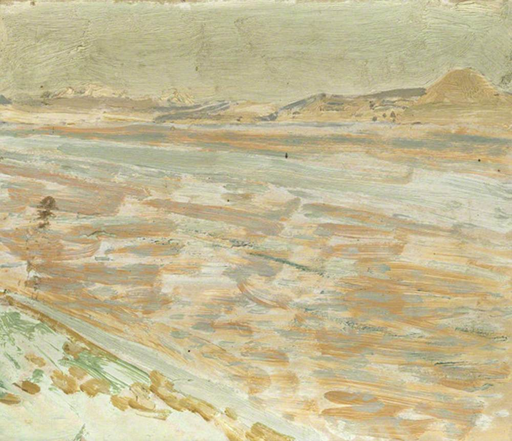 Stretches of the River Euphrates: Looking South in the Afternoon