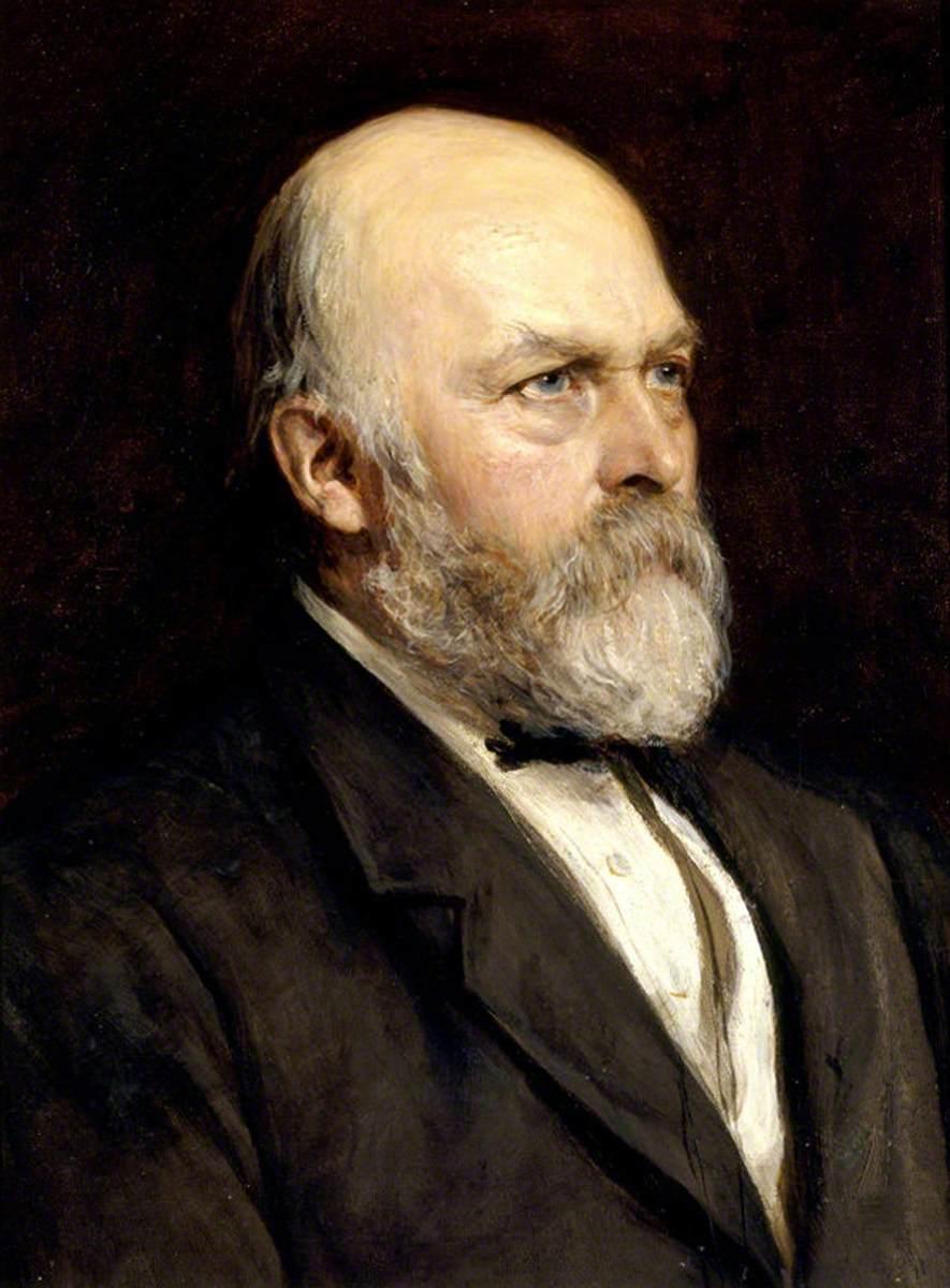 Sir Arthur Hallam Elton (1818–1883), 7th Bt, MP