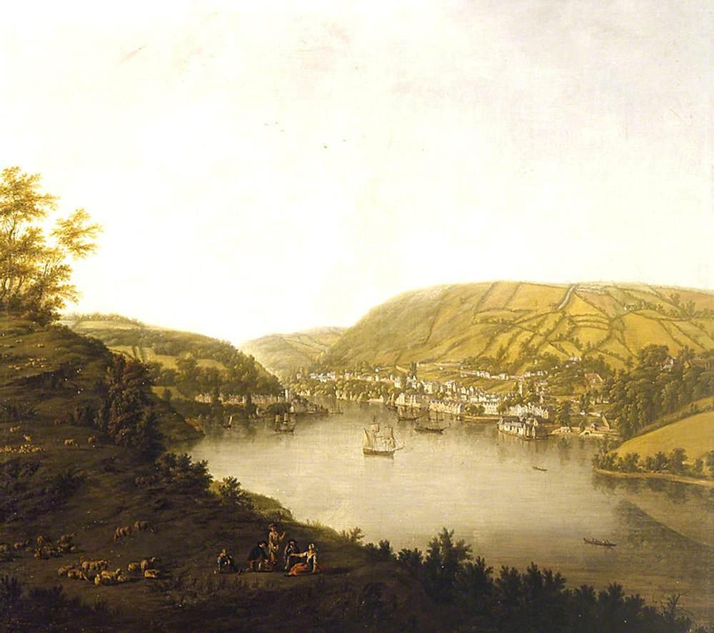 A View of Kingswear, Devon