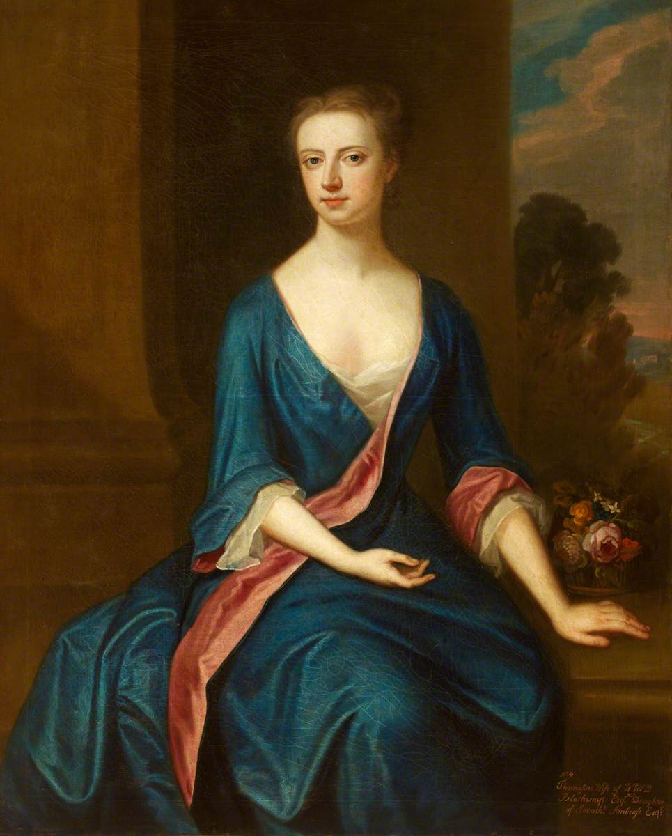 Thomasine Ambrose, Mrs William Blathwayt II (d.1774)