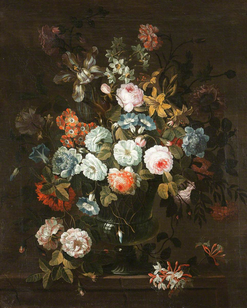 A Still Life with Flowers
