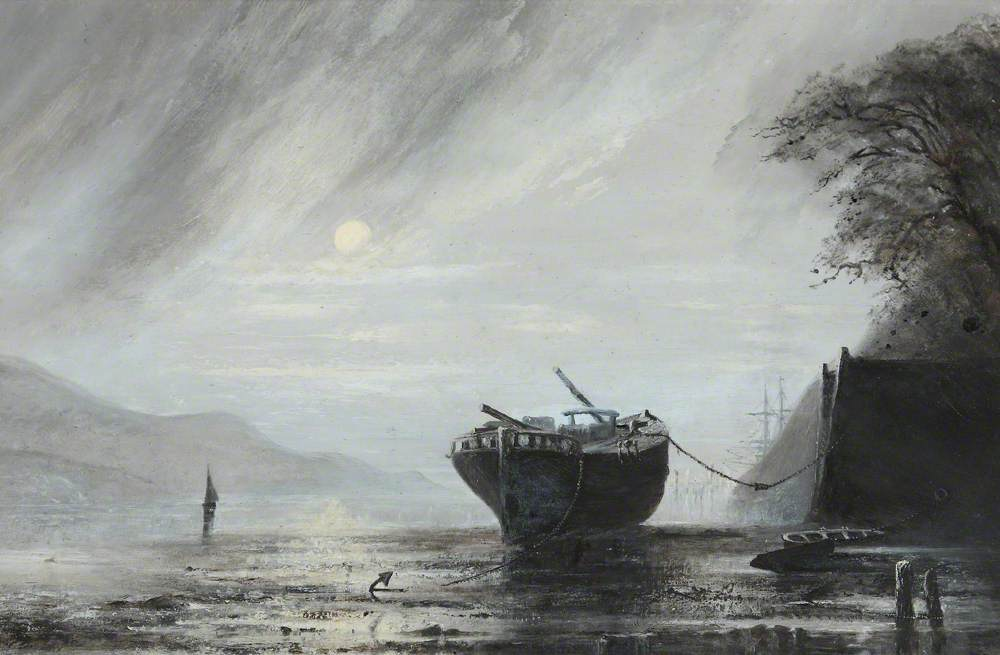 The Schooner 'Mary Jones' of Aberdovey