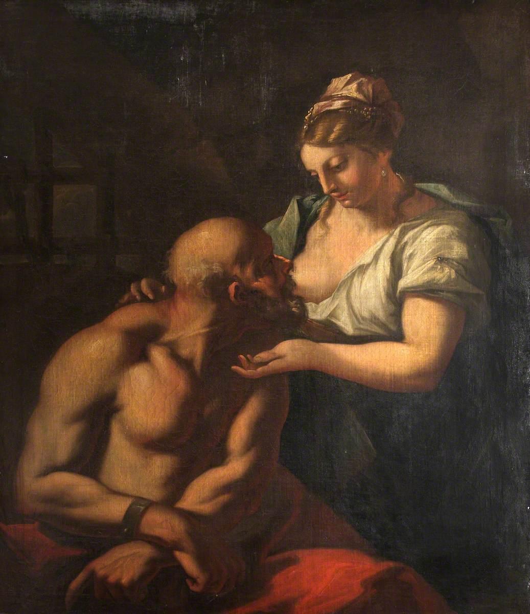 Cimon and Pero (The Roman Charity)