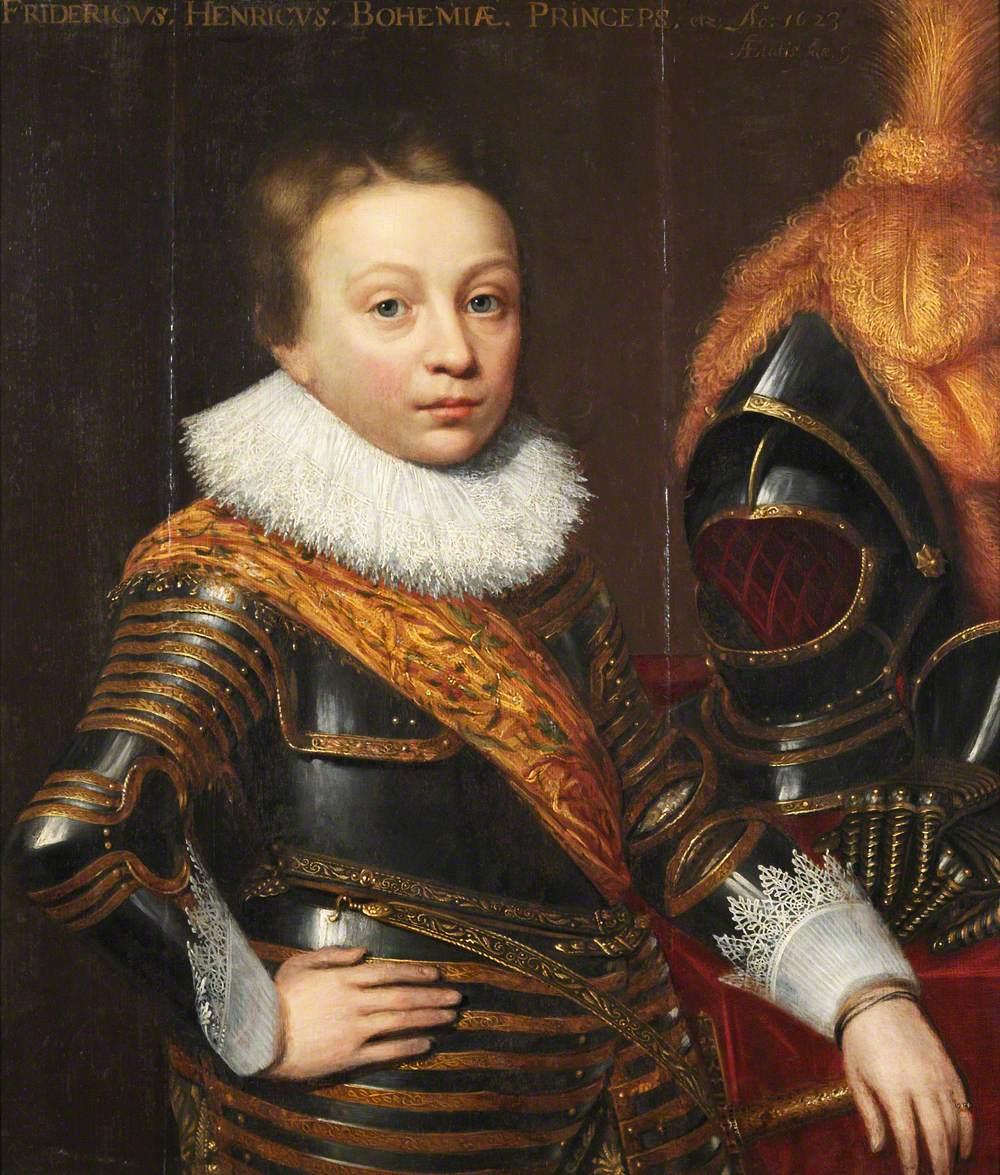 Prince Frederick Henry (1614–1629), Crown Prince Palatine, Aged 9