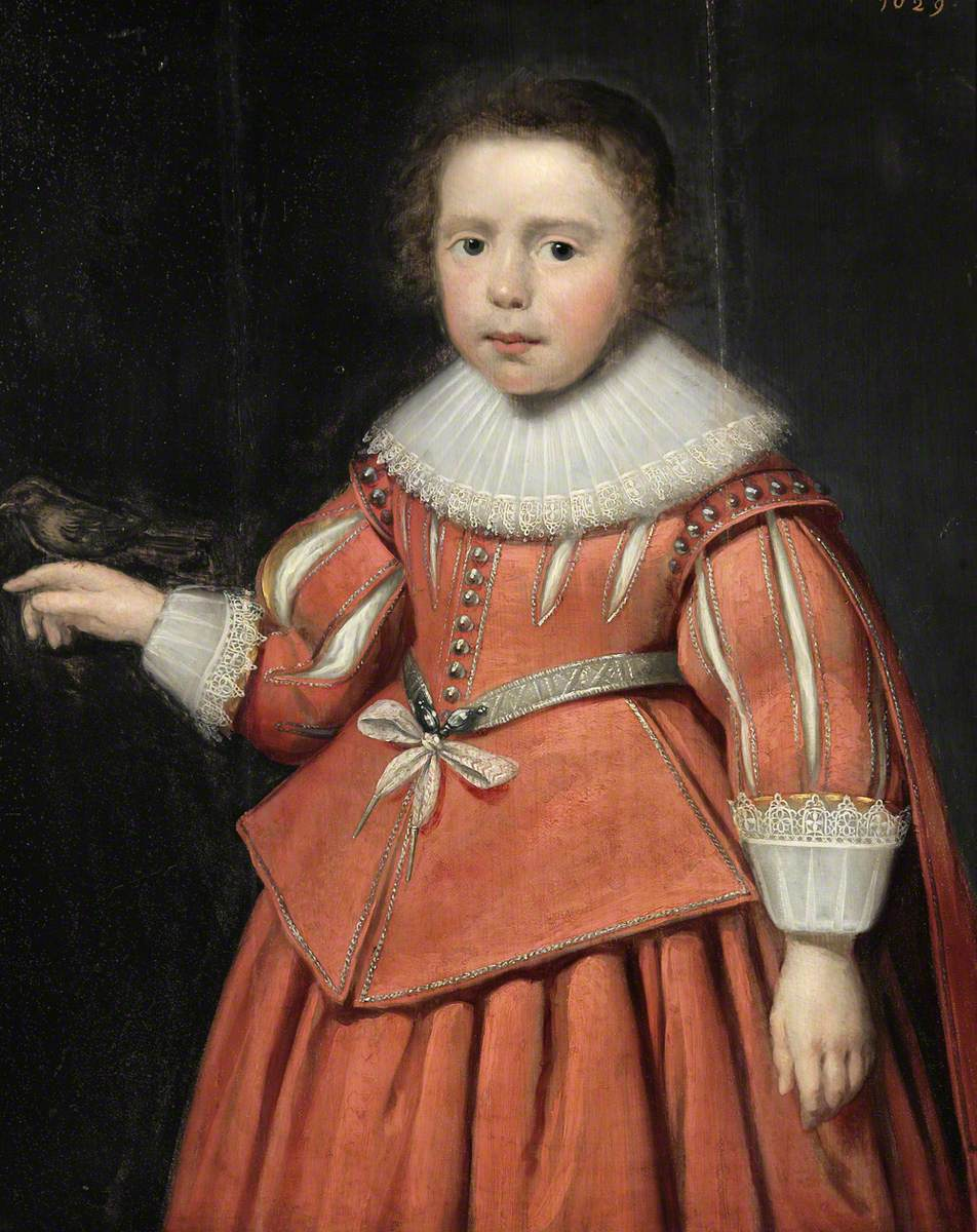 Portrait of an Unknown Boy with a Bird