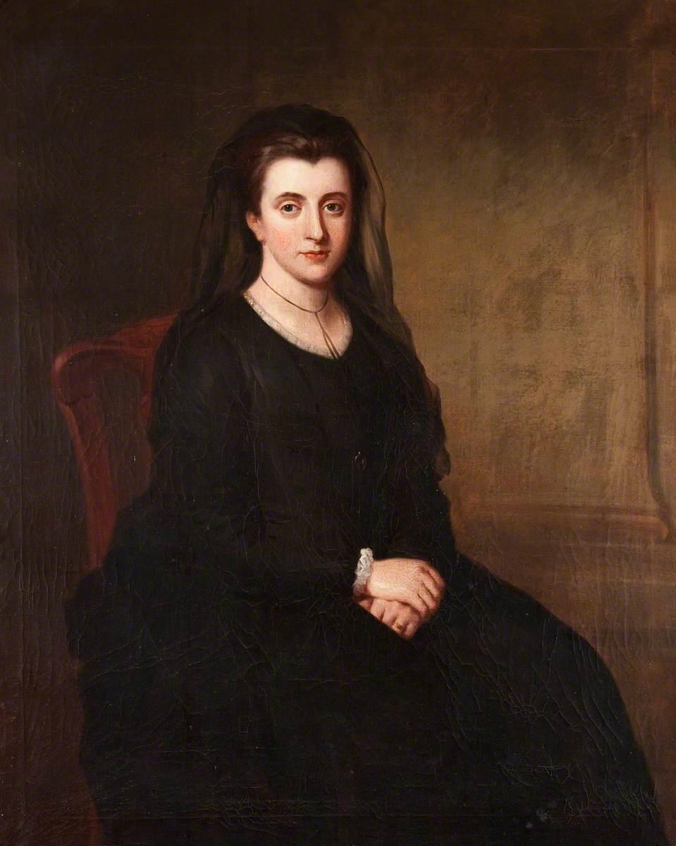 Diana Wynne (1748–1805), Mrs Philip Yorke I, as a Widow