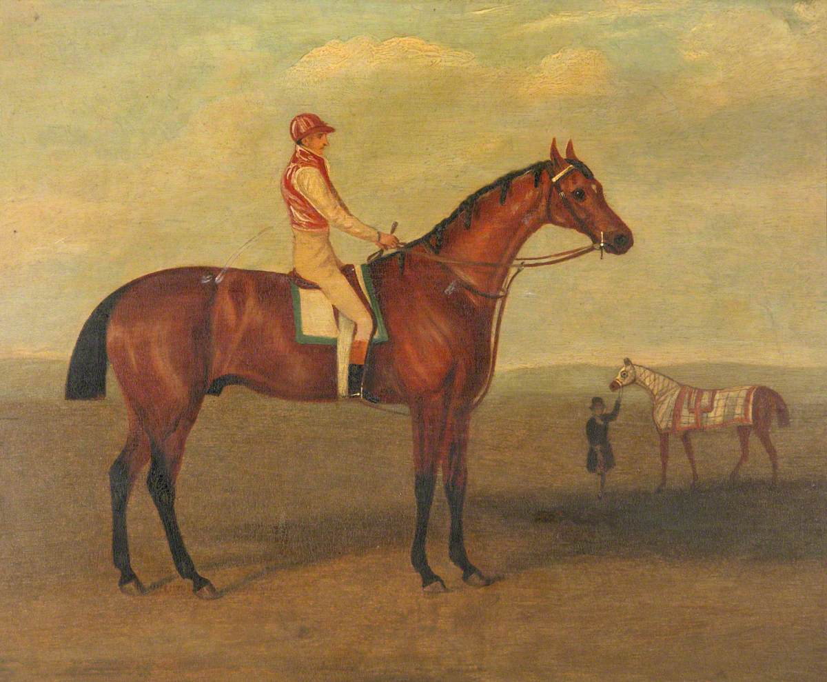 Captain Young on Horseback
