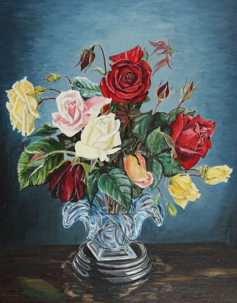A Vase of Roses