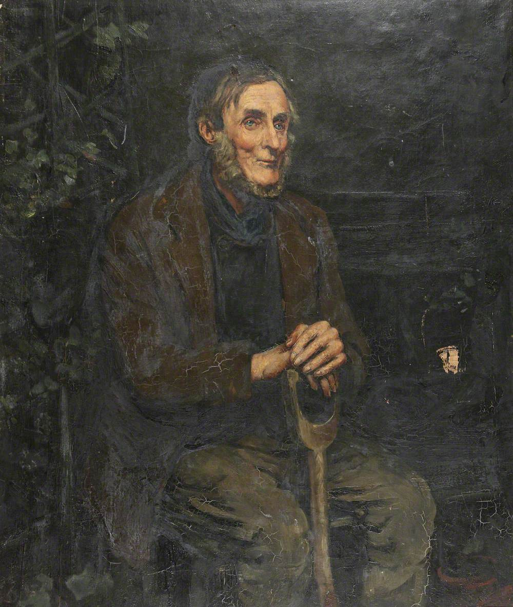 An Elderly Garden Labourer