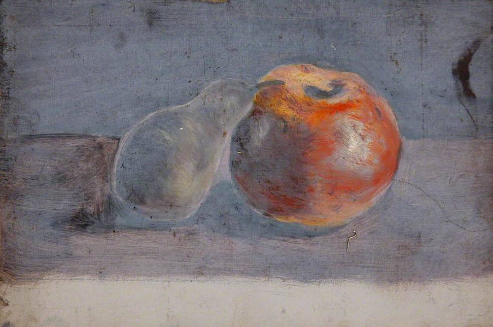 Study of an Apple and a Pear
