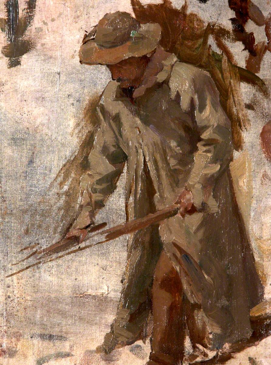 A Labourer in Fustian
