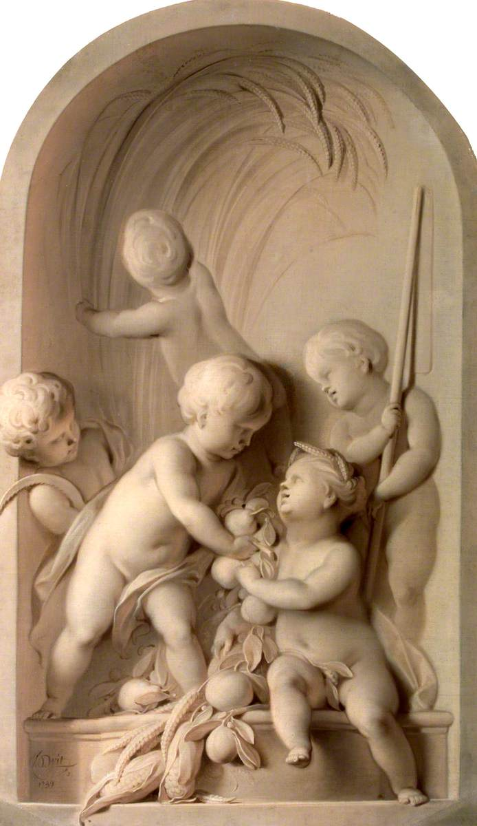 Putti Enacting an Allegory of Summer