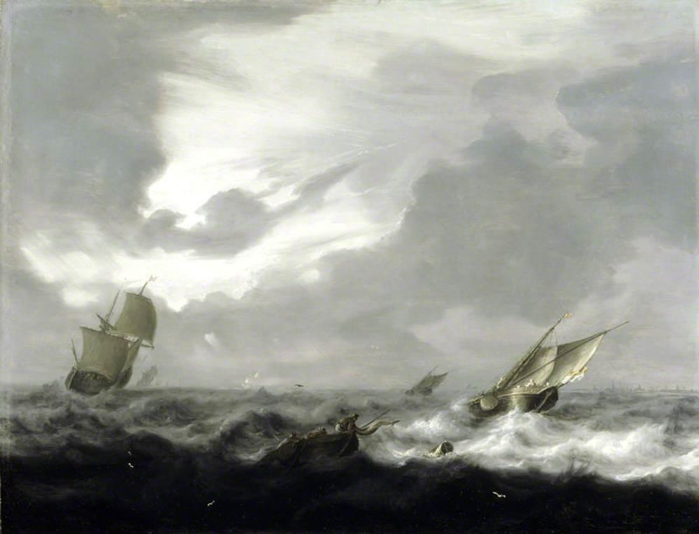 Shipping in a Rough Sea