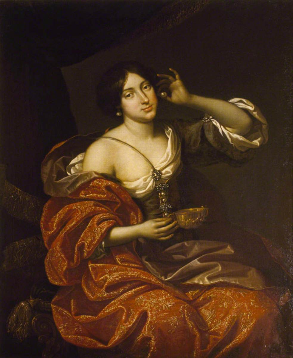 Lady Elizabeth Howard (1656–1681), Lady Felton, as Cleopatra