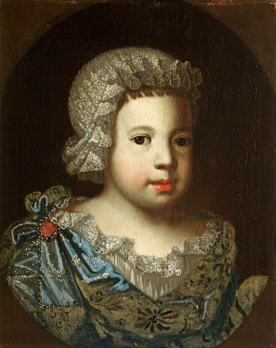 Portrait of an Unknown Small Child