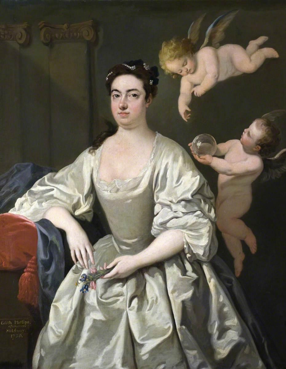 Edith Phelips (1694–1772), Mrs Carew Mildmay
