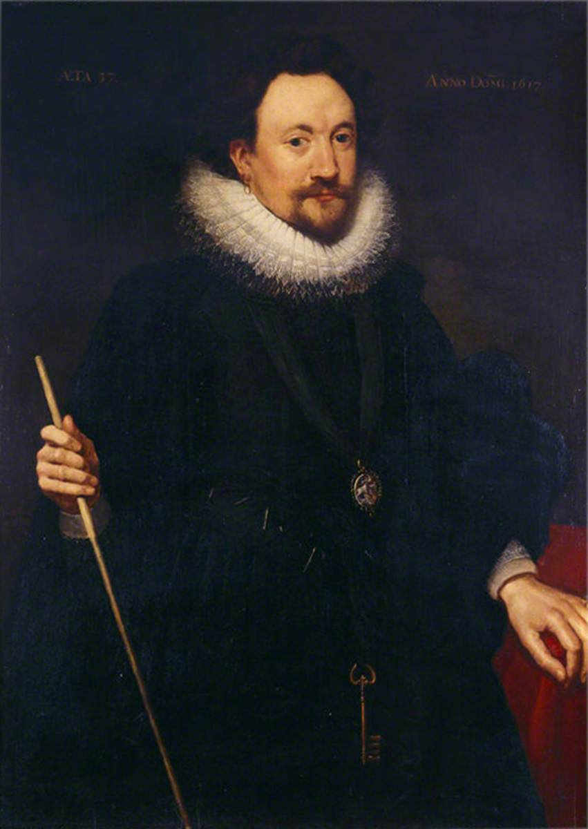 William Herbert (1580–1630), 3rd Earl of Pembroke, KG, PC, Aged 37